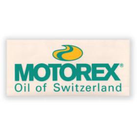 Autocollant Motorex transparent 24cm x 11cm