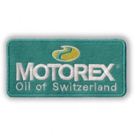 Badge à coudre Motorex 120mm x 60mm