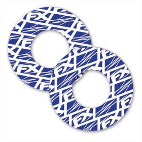 Donuts bleus (la paire)