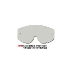Ecran simple - Double filtrage photochromatique (Light Sensitive)