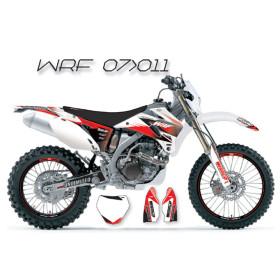 Kit déco WRF 2007 2008 2009 2010 2011 blanc