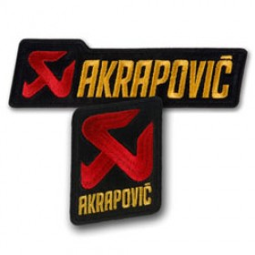 Patch / Ecusson tissé Akrapovic