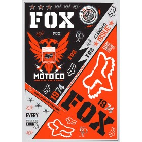 Planche de stickers FOX Covert