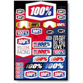 Planche stickers 100%