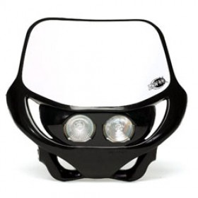 Plaque phare ACERBIS DHH double optique