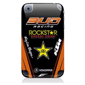 Sticker Team Replica pour Iphone 3G / 3GS - Orange KTM