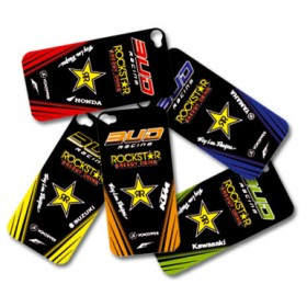 Sticker Team Replica pour Iphone 4 / 4S - Rouge HONDA