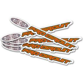 Pack de 5 stickers Pro Circuit