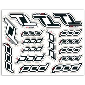 Feuille de stickers Pod MX
