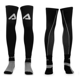 Chaussettes longues renforcées ACERBIS X-LEG gris et noir