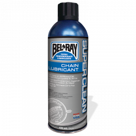 Super clean chaine lubrifiant Bel Ray (aérosol 175mL)