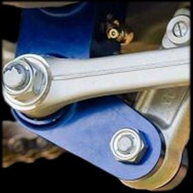Biellette d'abaissement de suspension arrière pour YAMAHA WRF / WRR / WRX / YZ / YZF