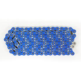chaine de transmission renforcéee sans joint 520 bleue