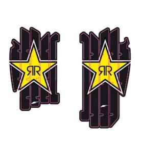 décos de grille de radiateur rockstar pour Yamaha YZF 250 2011-2012