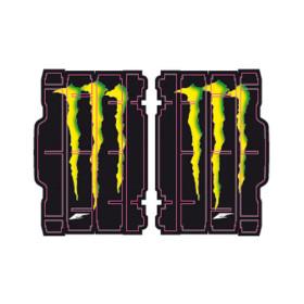Déco de protection de radiateur Monster Energy pour Yamaha