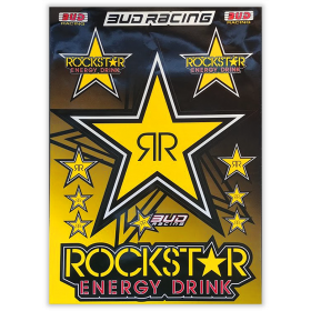 plnahce de stickers Rockstar Energy - budracing