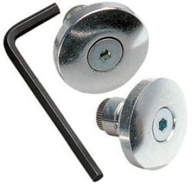 Embouts de guidon en aluminium standard