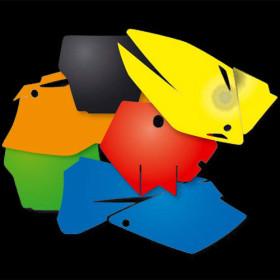 fond de plaque enduro KTM jaune