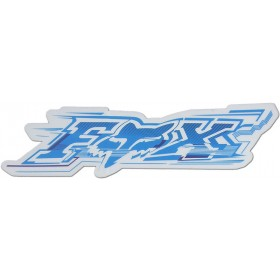 Sticker FOX Electric Blue