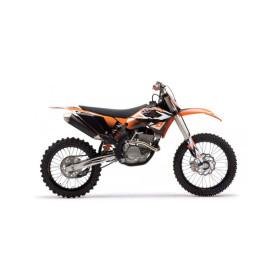 Kit déco One Industries Ouïes de radiateur + réservoir pour KTM SX 07-10