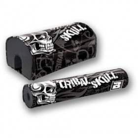 Mousse de guidon Tribal Skull