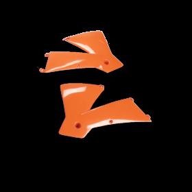 ouies de radiateur pour KTM SX / EXC orange