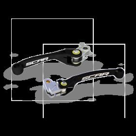Paire de leviers retournables SCAR pour SHERCO