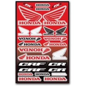 Planche de stickers Honda Factory Effex