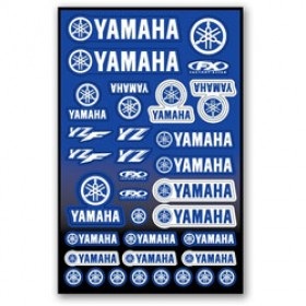 Planche de stickers Yamaha Factory Effex