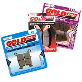Plaquettes de frein Gold Fren BETA