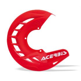 Protège-disque Acerbis X-Brake - ROUGE