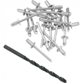 Rivets de pot d'échappement acier anti-corrosion