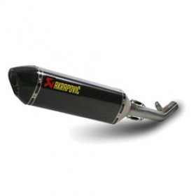 Silencieux Akrapovic SLIP-ON SK7SO2ZC/1  /  SK7SO2ZT/1  pour KAWASAKI Z 750 / Z750R (2007/2013)