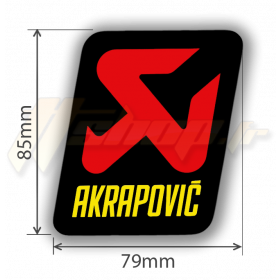 Sticker Akrapovic P-HST14AL