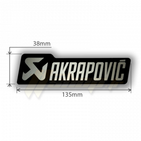 Sticker Akrapovic P-HST4ALMONO