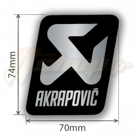 Sticker Akrapovic P-VST17AL