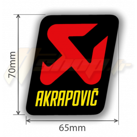 Sticker Akrapovic P-VST4PO