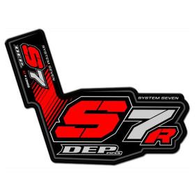 Sticker pour pot d'échappement DEP S7R