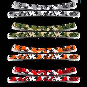 Kit stickers de roues camouflage