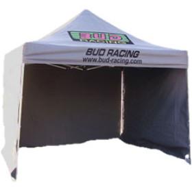 Tente paddock / tonnelle BUD Racing