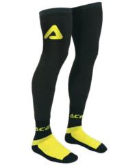 Chaussettes longues renforcées ACERBIS X-LEG jaune et noir
