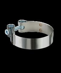 collier d'échappement inox 63 à 66mm