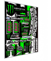 Planche stickers team Bud Racing 2016