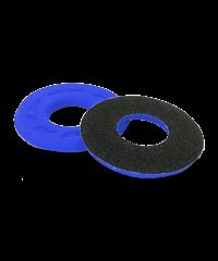 Donuts / butées de poignée en mousse anti-ampoules progrip bleu