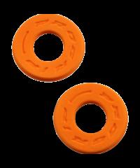 Donuts / butées de poignée en mousse anti-ampoules progrip orange