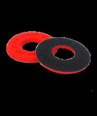 Donuts / butées de poignée en mousse anti-ampoules progrip rouge