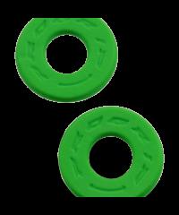 Donuts / butées de poignée en mousse anti-ampoules progrip vert