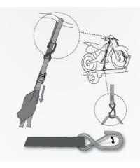 Sangles de transport moto / quad  XXL  ACERBIS  qualité PRO