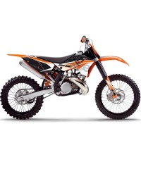 fonds de plaques pour KTM SX 2/4 temps 2007/2008