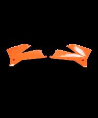 Ouïes de radiateur Orange fluo KTM SX/EXC 05-06 . EXC 07